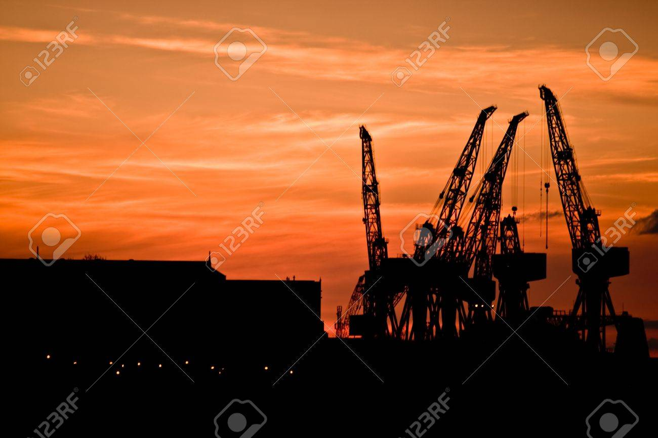 End of a hard days work. Stock Photo - 4739213