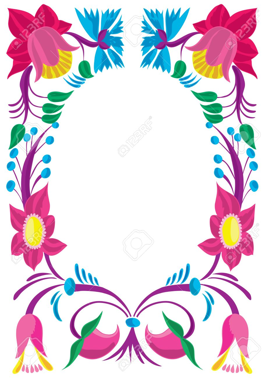Celebratory card design of a flower ornament royalty free design of a flower ornament stock vector 10951945 altavistaventures Images