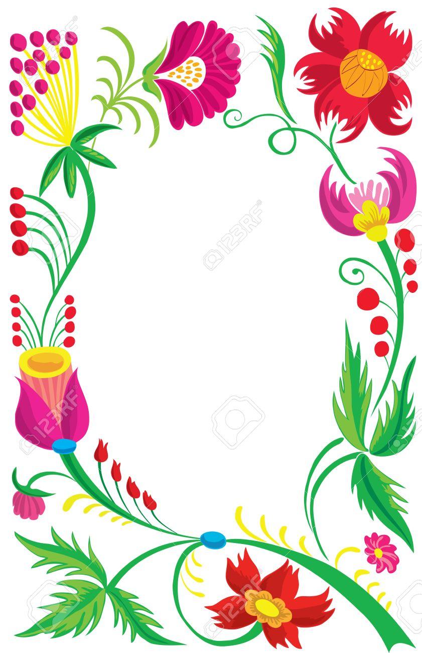 Beautiful Flower Borders Images Flower Wallpaper Hd
