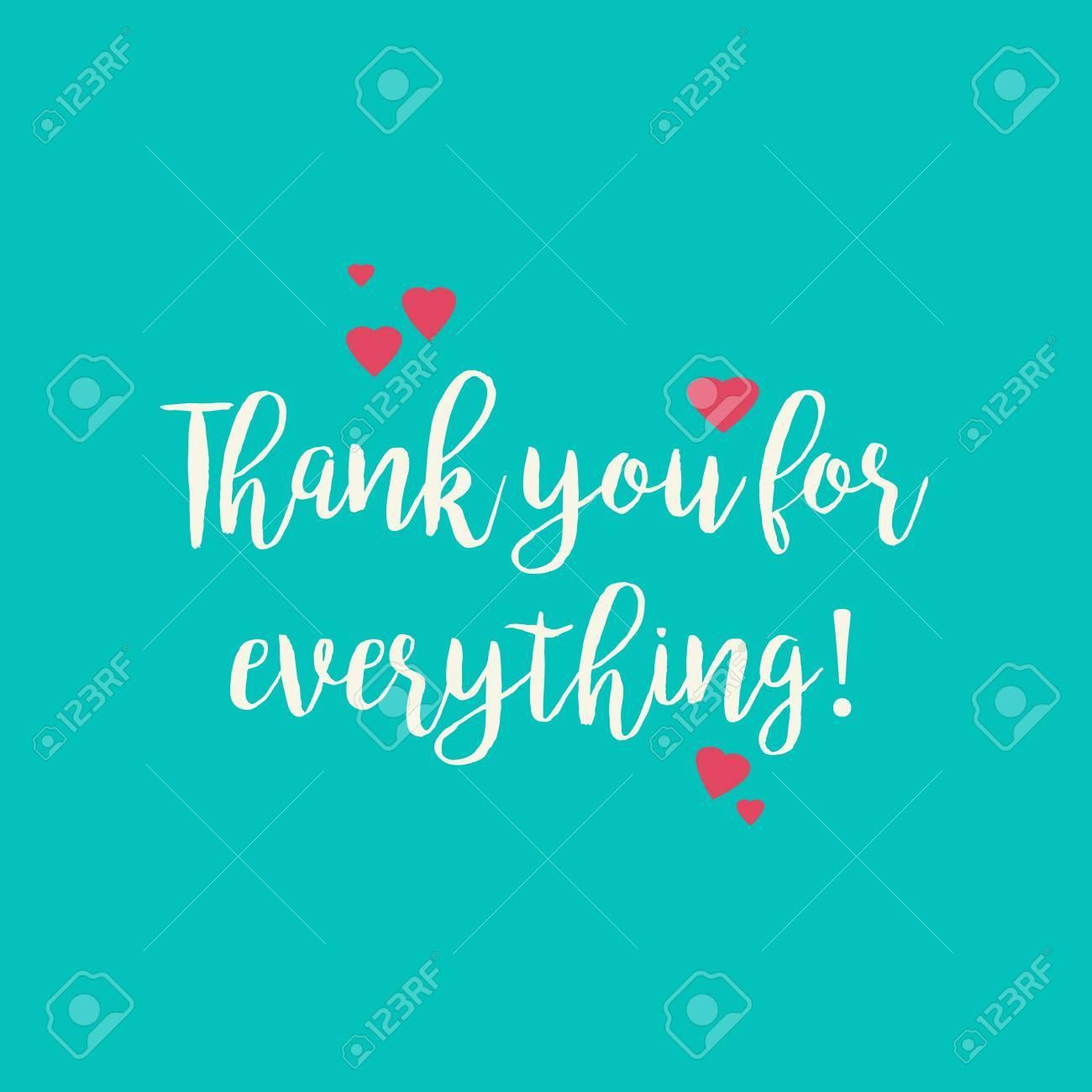 Trullo Azul Turquesa Gracias Por Todo La Tarjeta De Felicitación Con