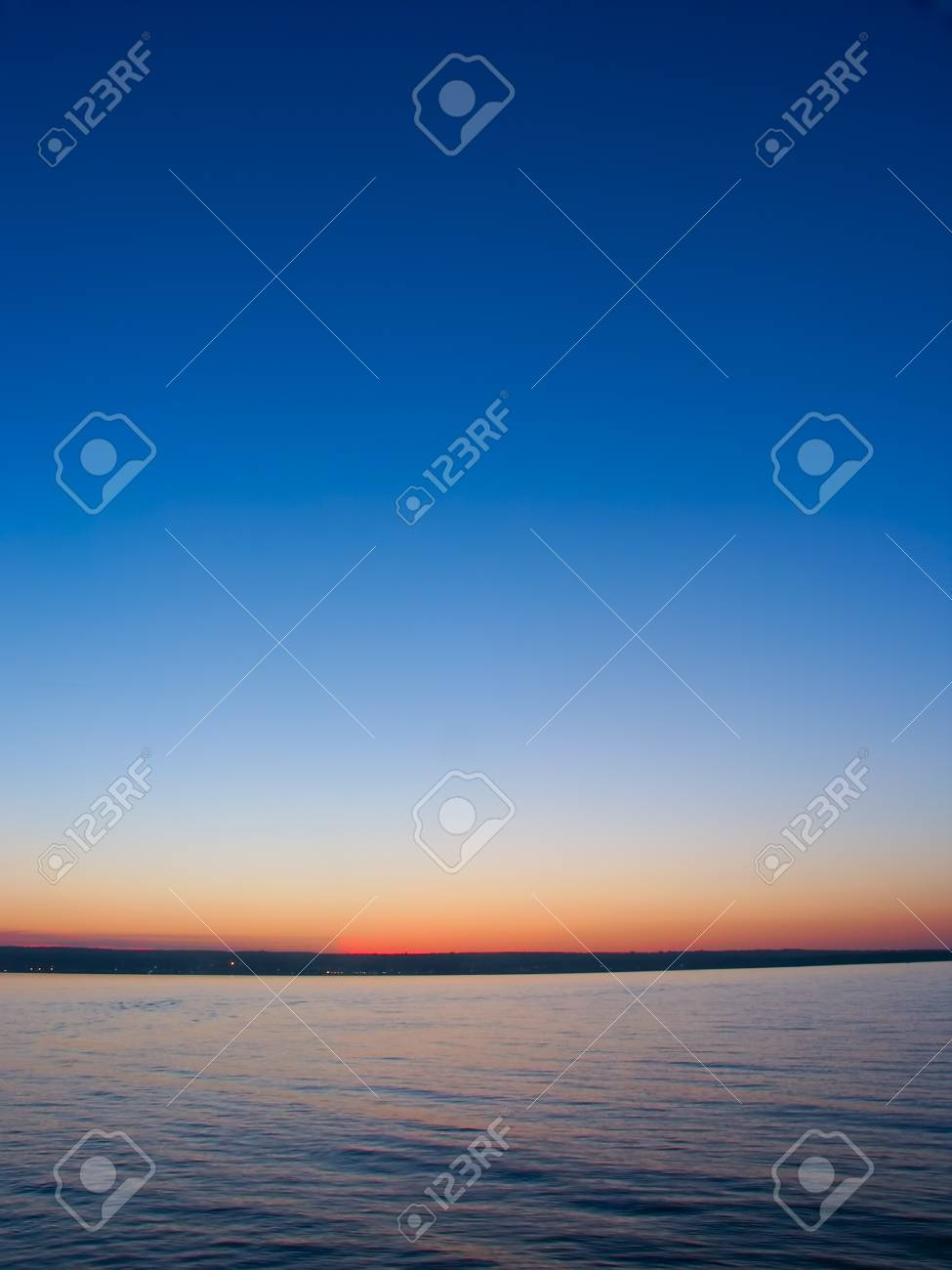 Beautiful colors reflect off Lake Superior in northern Michigan Stock Photo - 9645140