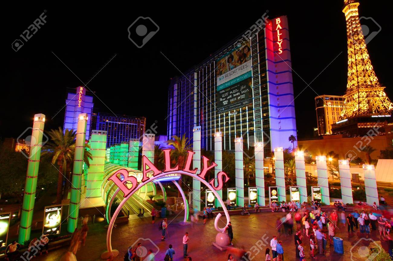 Las Vegas, USA - May 22, 2012: Bally's Hotel in Las Vegas. Stock Photo - 14685843