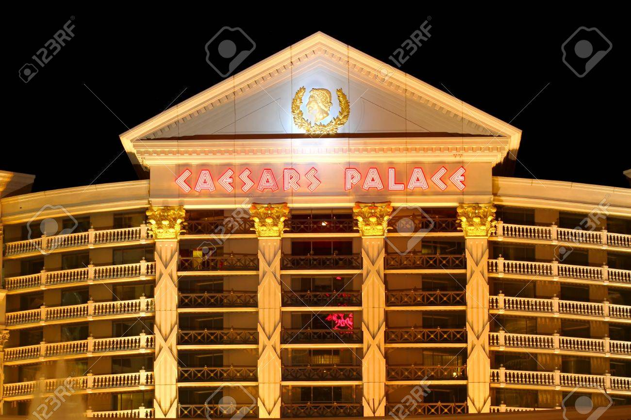 las vegas, usa - november 30, 2011: caesars palace is a large