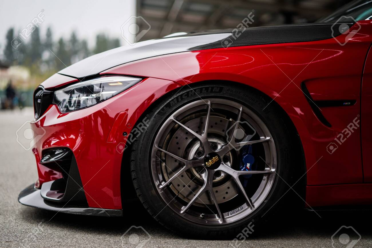 Los Angeles United States Sep 23 2019 Red Modified M3 Bmw Stock Photo Picture And Royalty Free Image Image 154425414