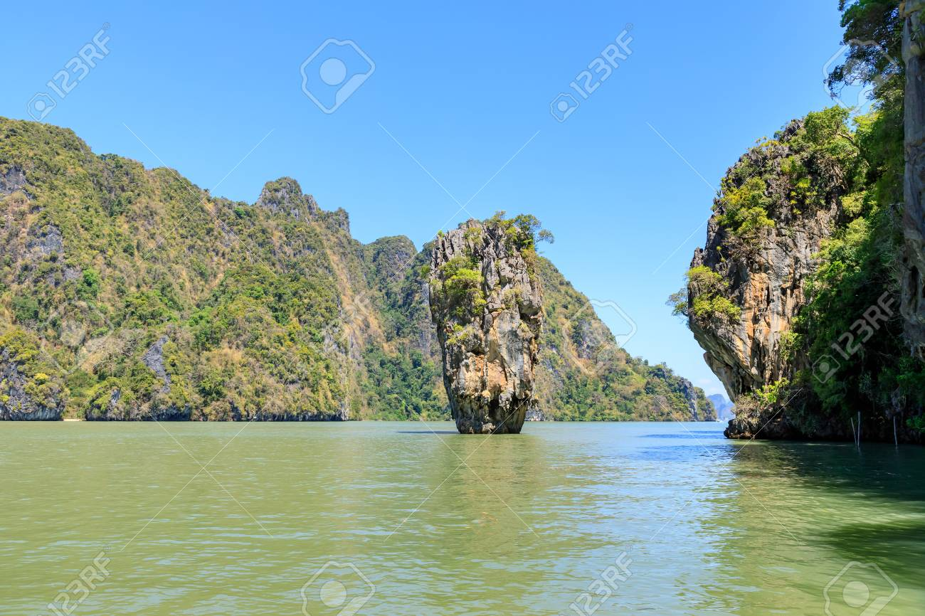 Amazing And Beautiful Tapu Or James Bond Island The Most Famous