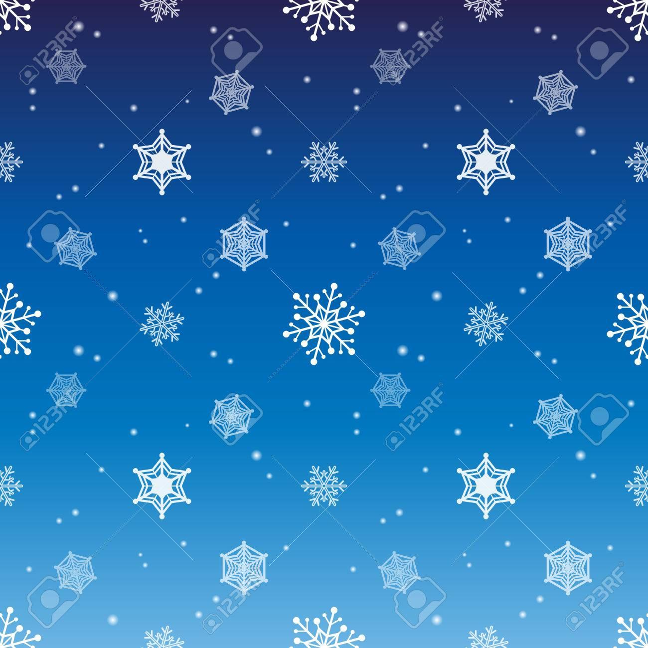 Schneeflocke Gradienten Blaue Farbe Hintergrund, Tapeten Weihnachten ...