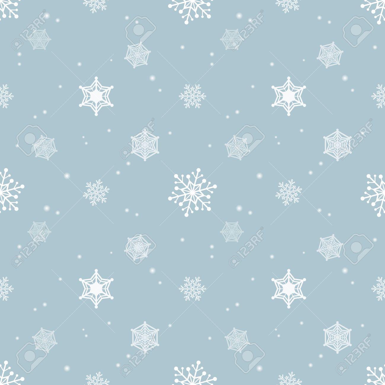 Schneeflocke Blau Pastellfarben Hintergrund, Tapeten Weihnachten ...