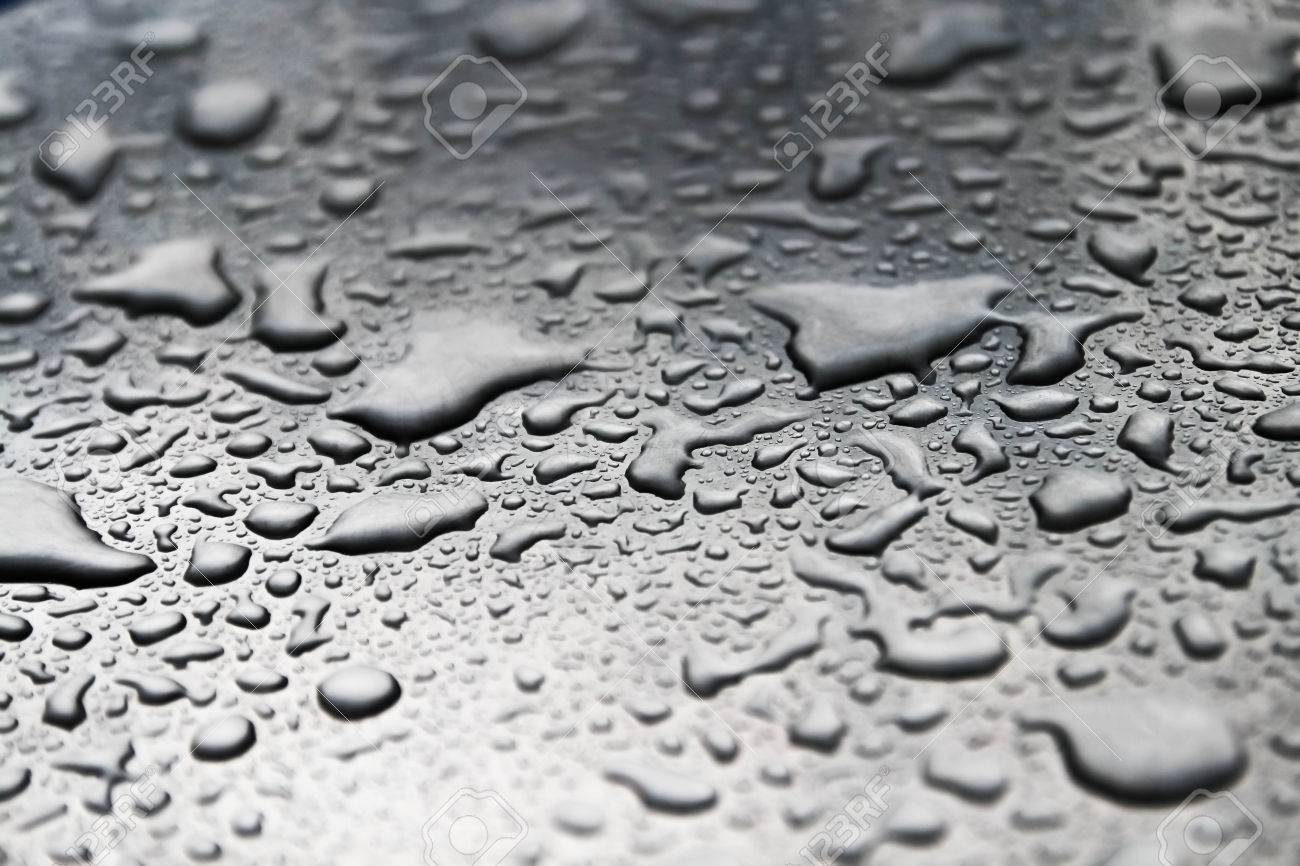 Drops Of Water On The Floor Stock Photo Picture And Royalty Free