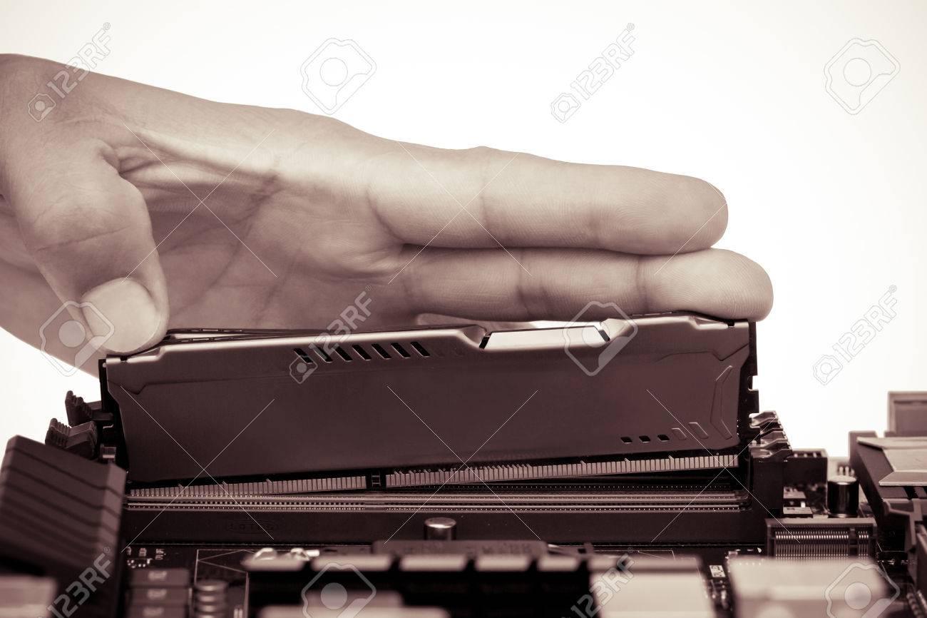 Geheugen Chip Processor Computer RAM Geheugenkaart 2 Gb Gesoleerd Op Een Witte