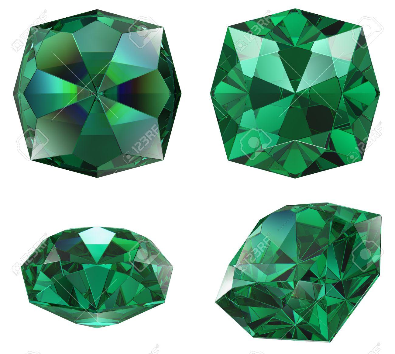 Couleur De L Emeraude couleur vert émeraude gem isolé