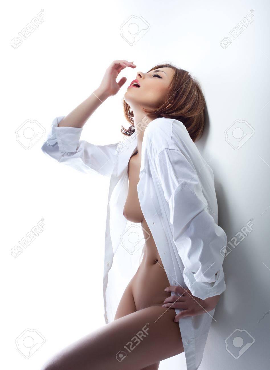 Расстегнутая блузка секс 7 фотография