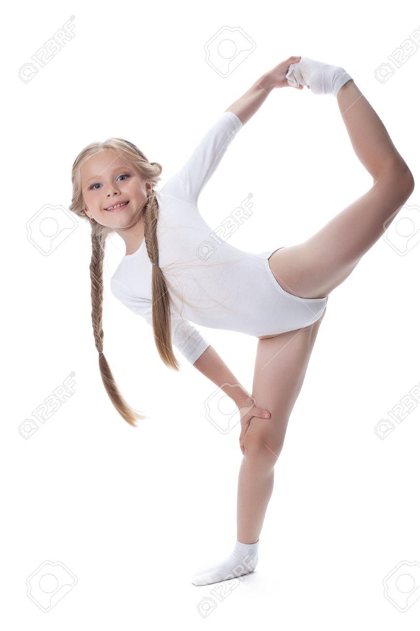 Фото маленькой гимнастки 15 фотография