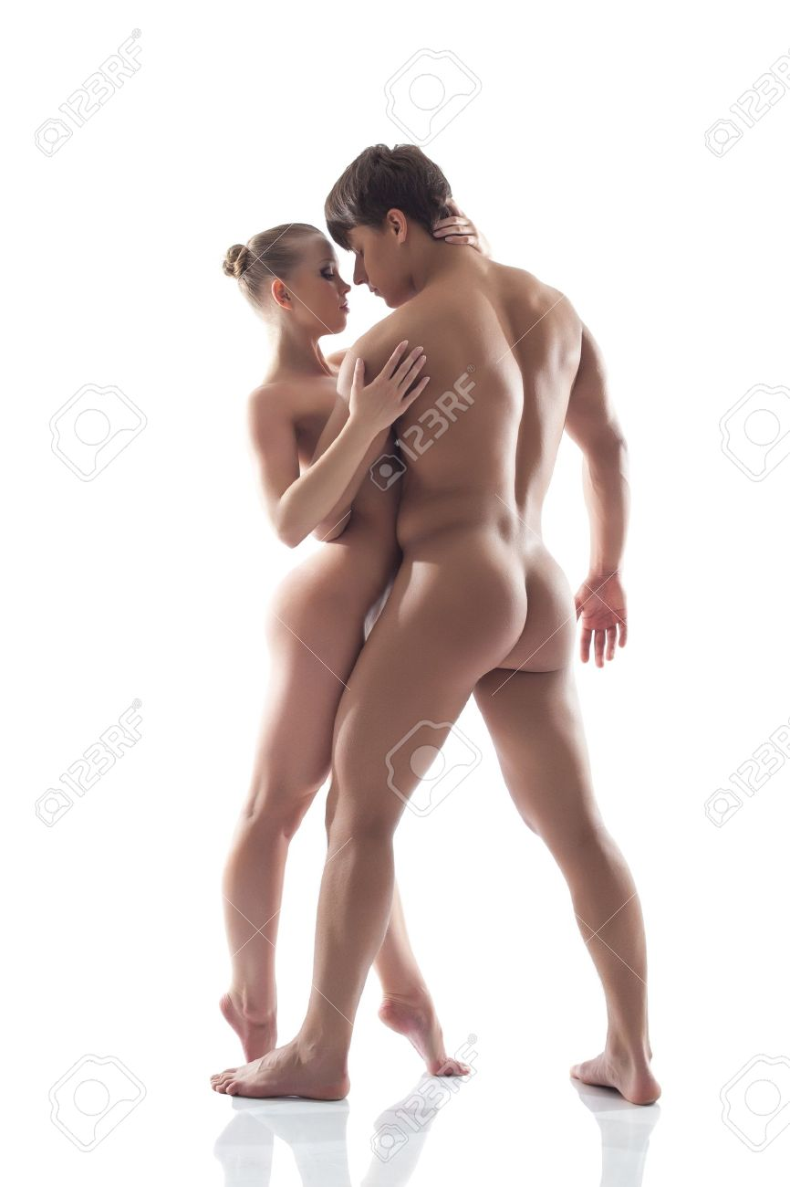 Naked picture of man and woman