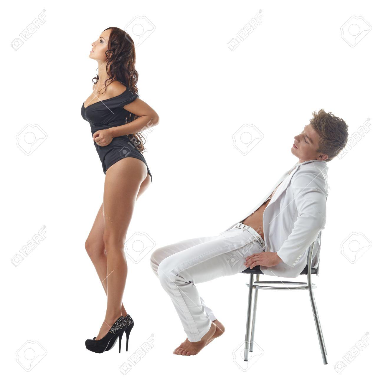 White Girl Twerking Thong
