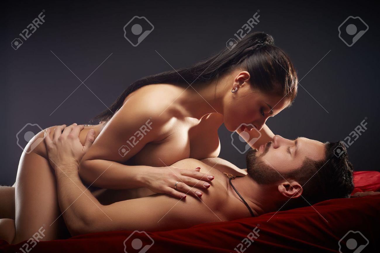 Stock Photo Studio Photo Of Passionate Couple Having Sex Close Up