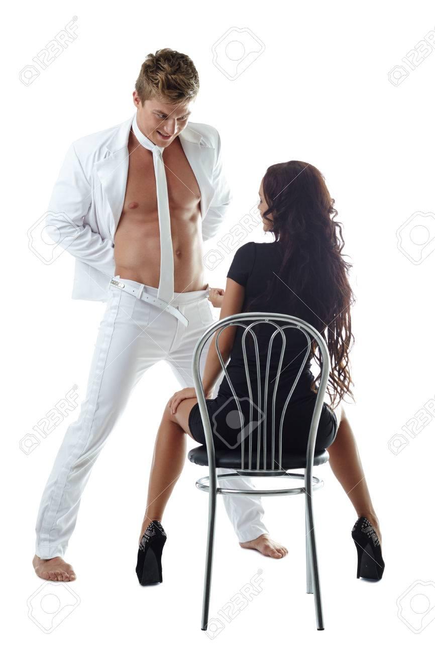 Muscular guy porn fucking girl hard