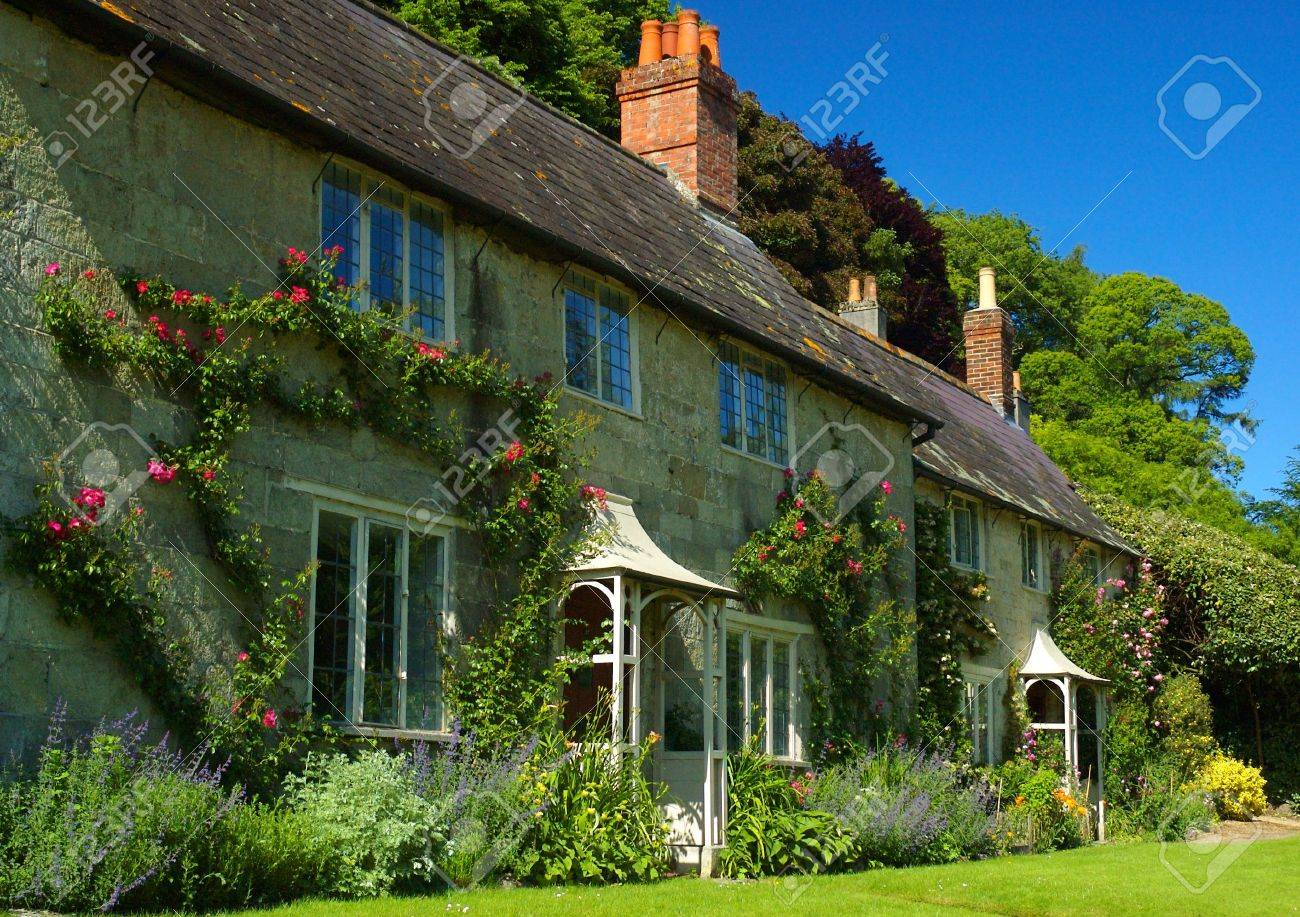 English Cottages Stock Photo Picture And Royalty Free Image