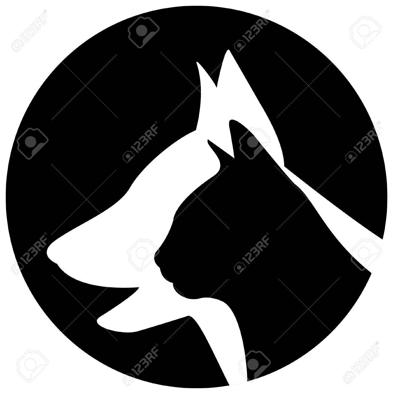 Veterinary logo Stock Vector - 3971198