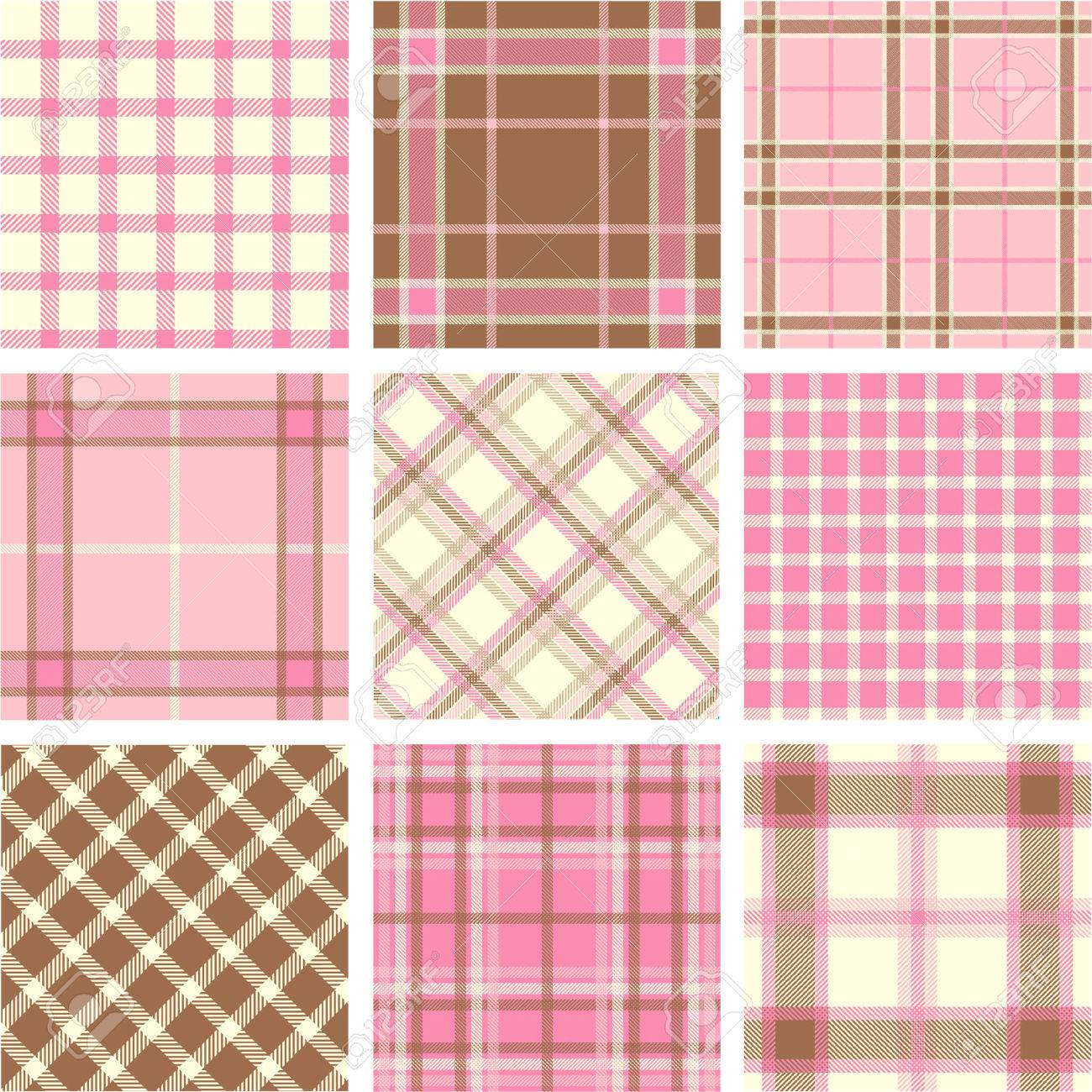 Plaid patterns Stock Vector - 5515312
