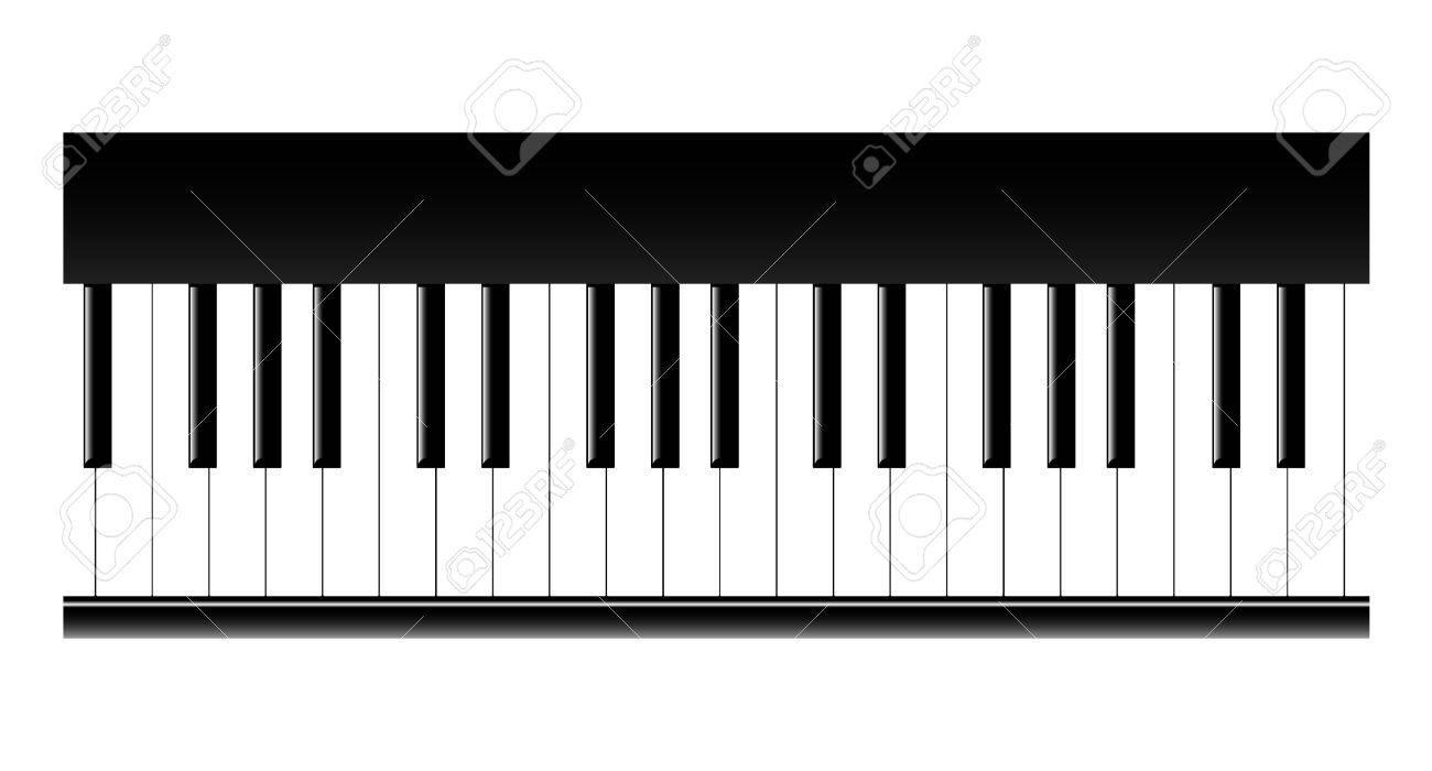 картинка клавиши фортепиано