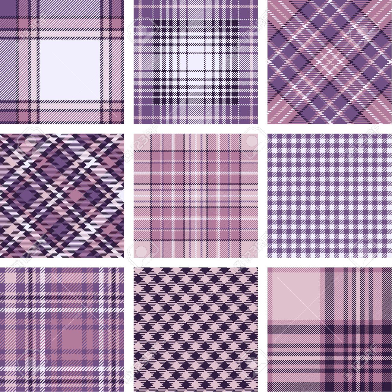 Plaid patterns - 15374830
