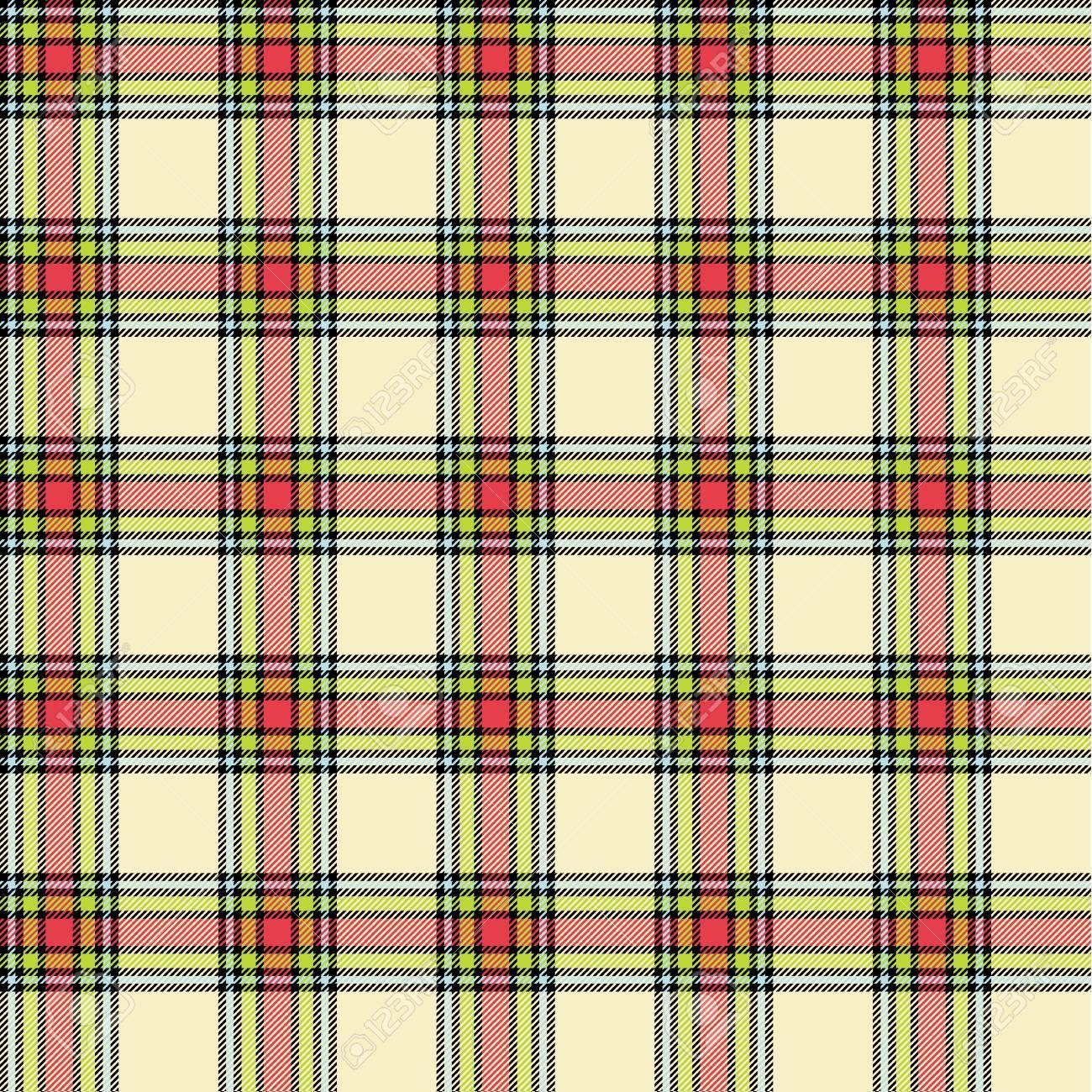 Seamless tartan pattern Stock Vector - 15680186