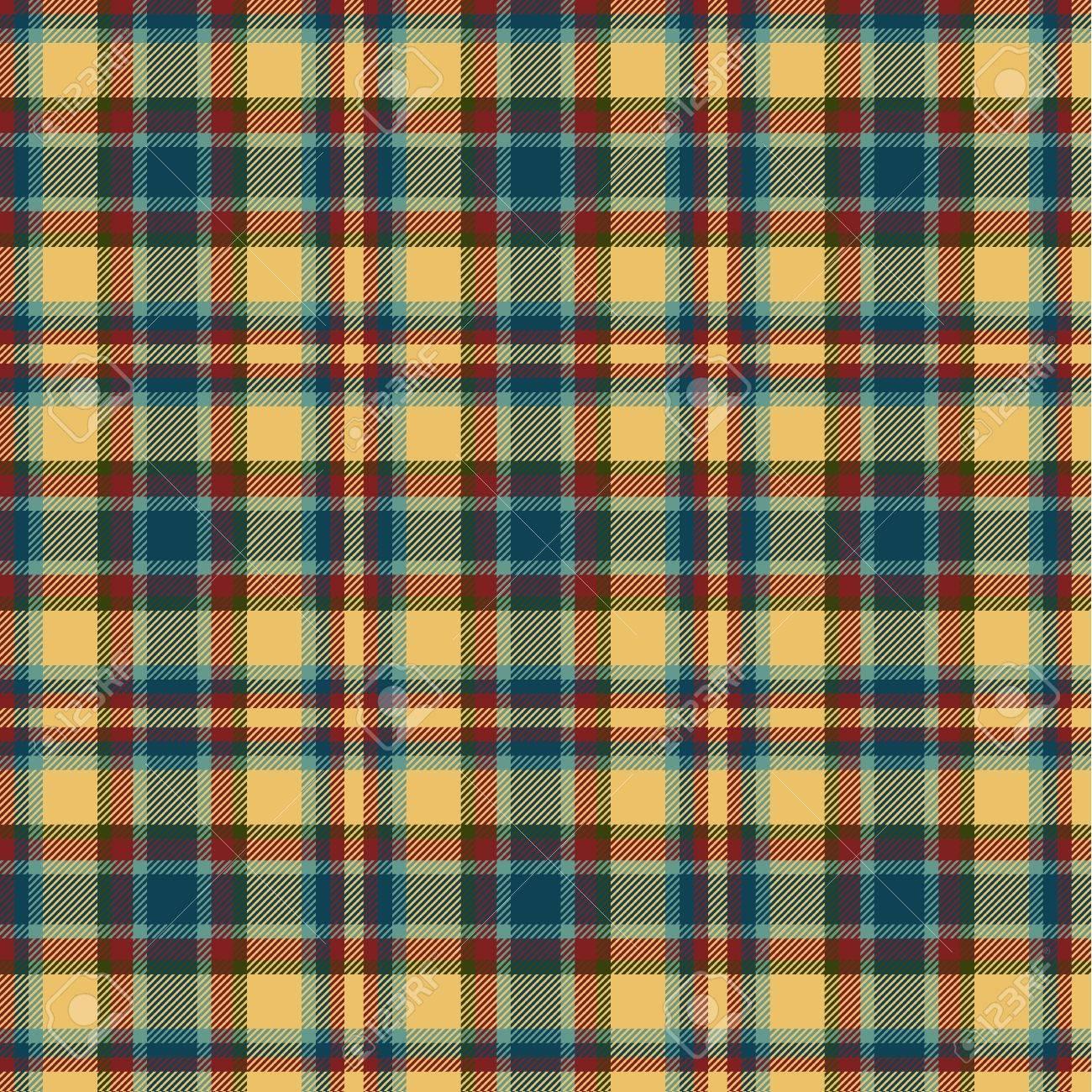 Seamless tartan pattern Stock Vector - 21964553