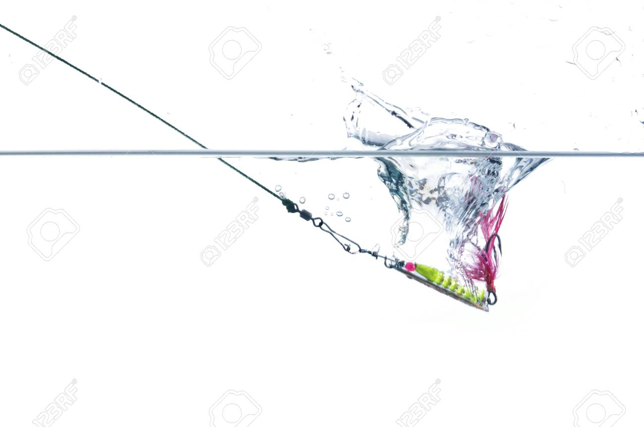 metal angling falling to water bait - 10725526
