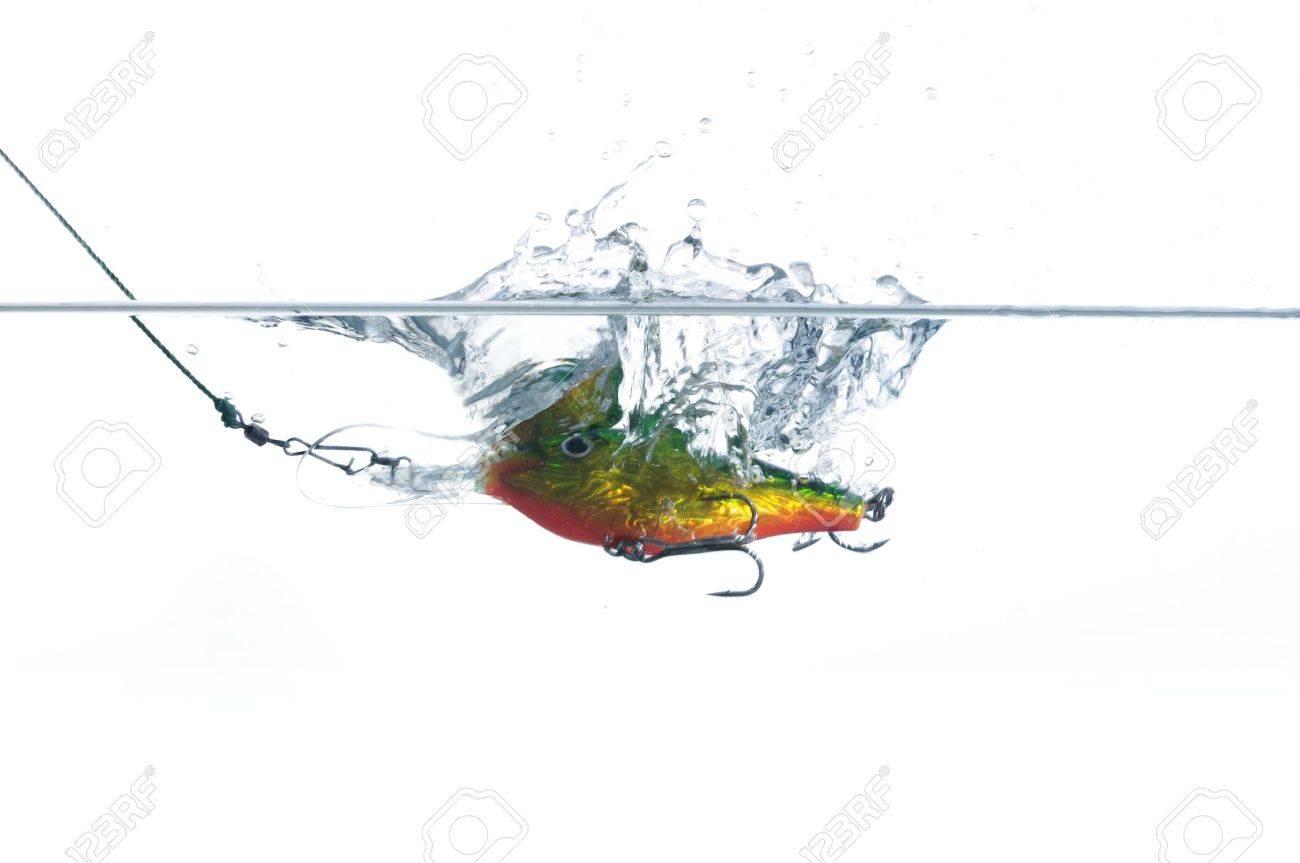 wobbler for fishing in water - 10725528