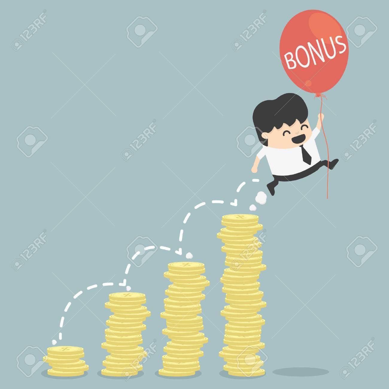 bonus de affaires Banque d'images - 29483972