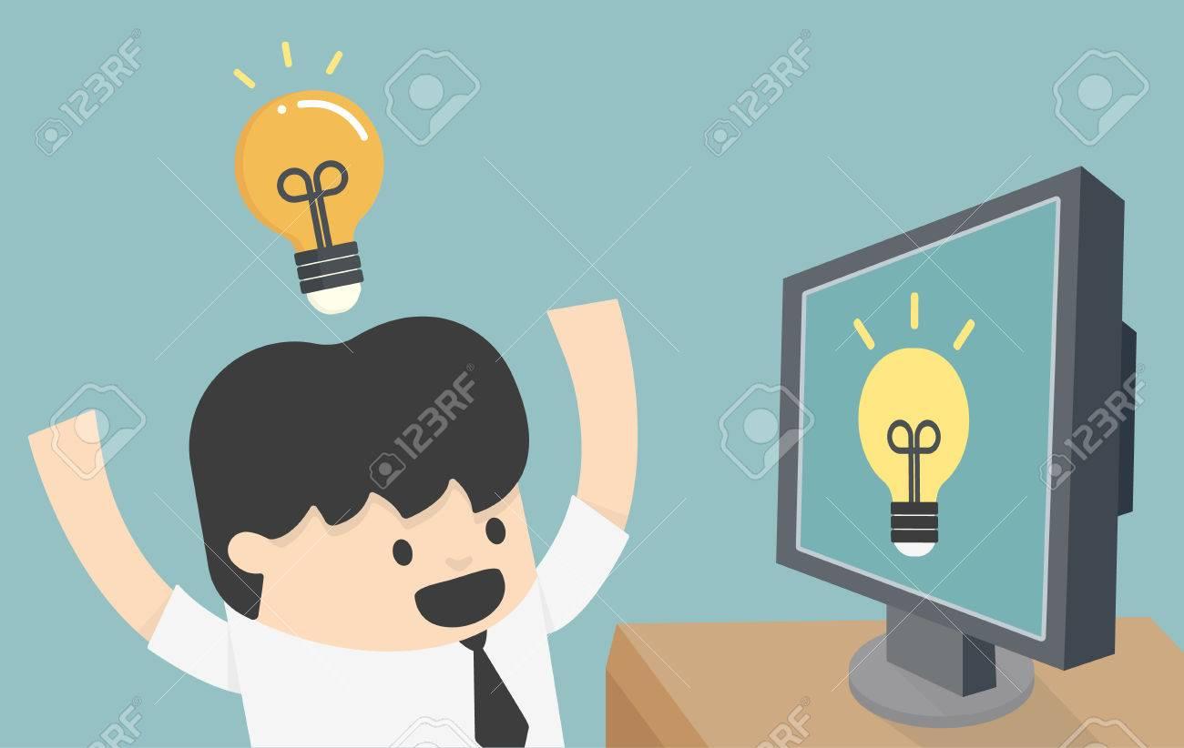 apprentissage sur Internet Banque d'images - 32057333