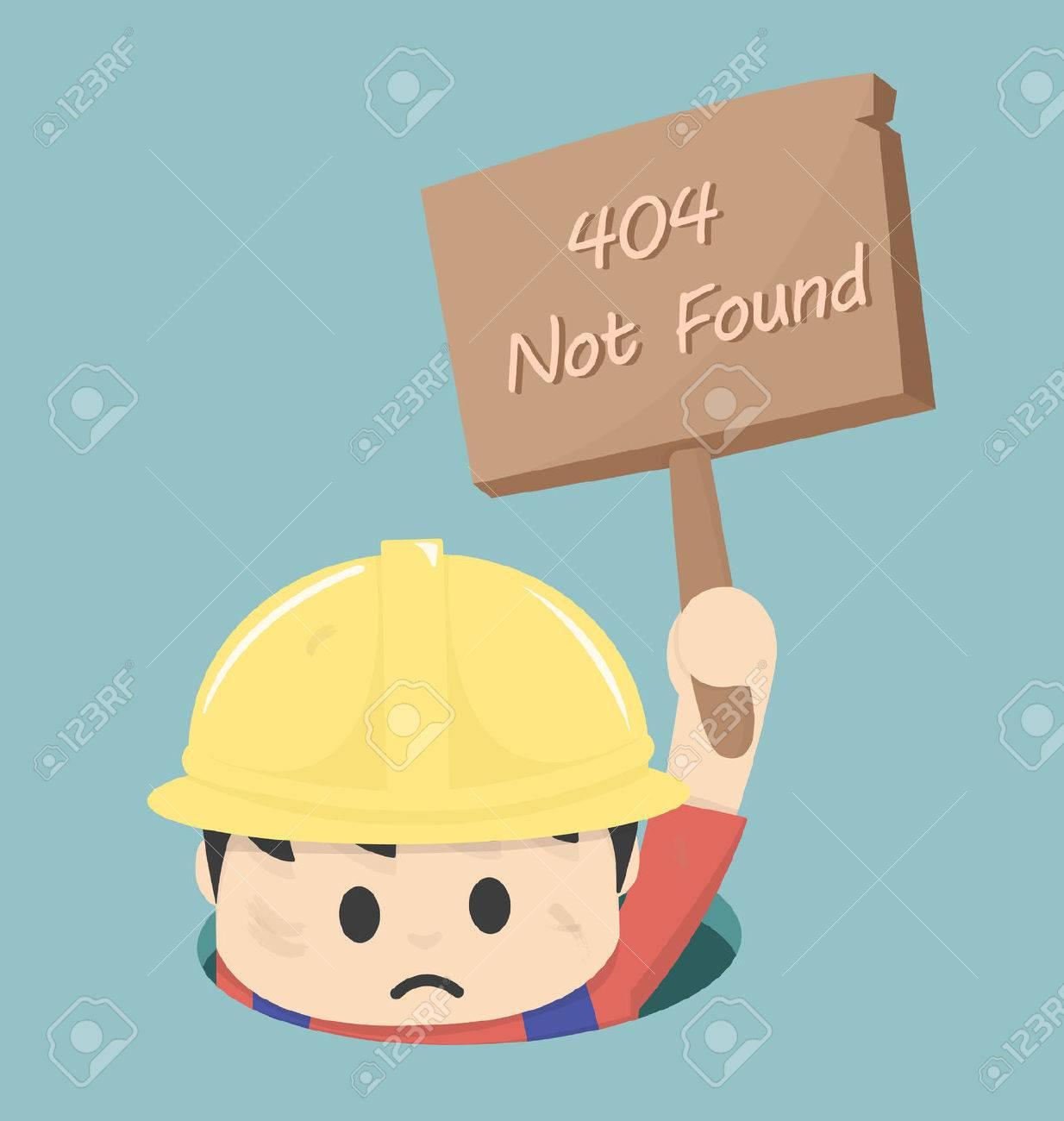 Page non trouvée Erreur 404 Banque d'images - 33627116