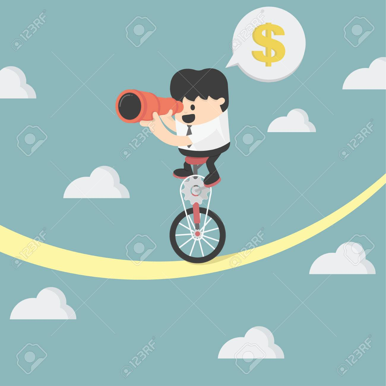 businessman balancing Banque d'images - 35511862
