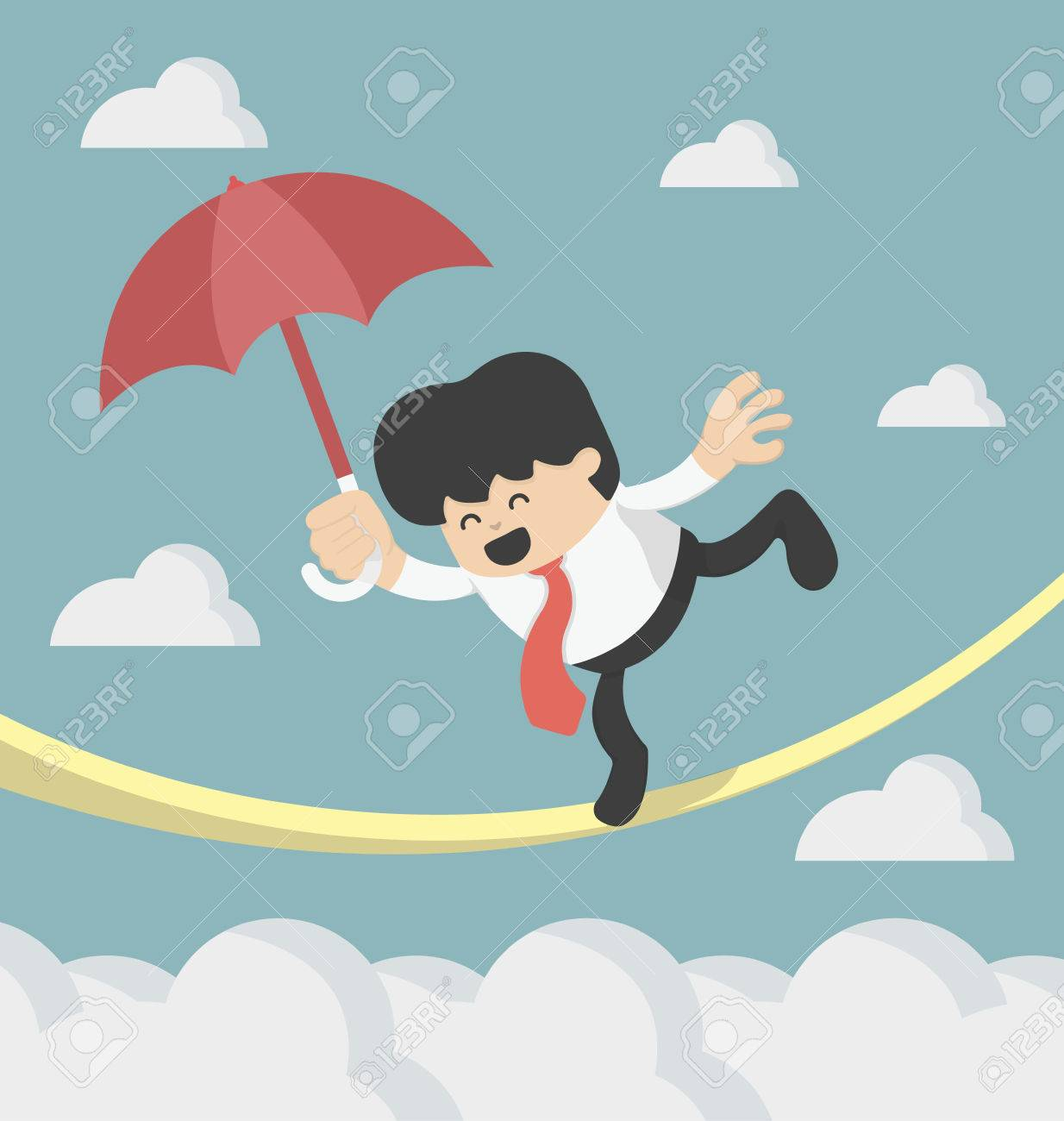 concepts Cartoons risques Banque d'images - 37539228