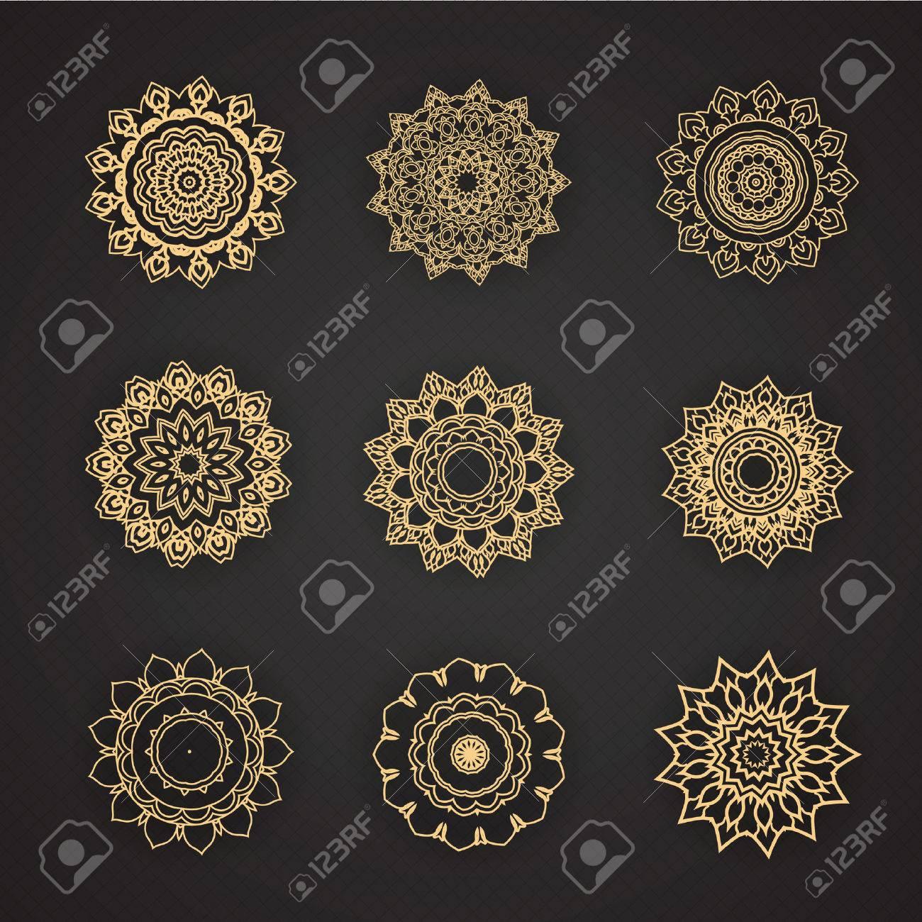 thai conception éléments de conception graphique Banque d'images - 41668714