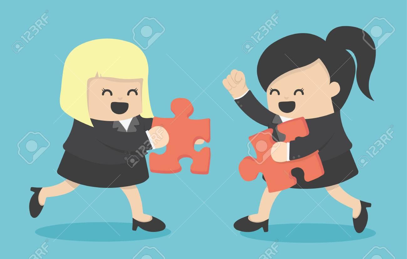 Business partners building a company Banque d'images - 44310171