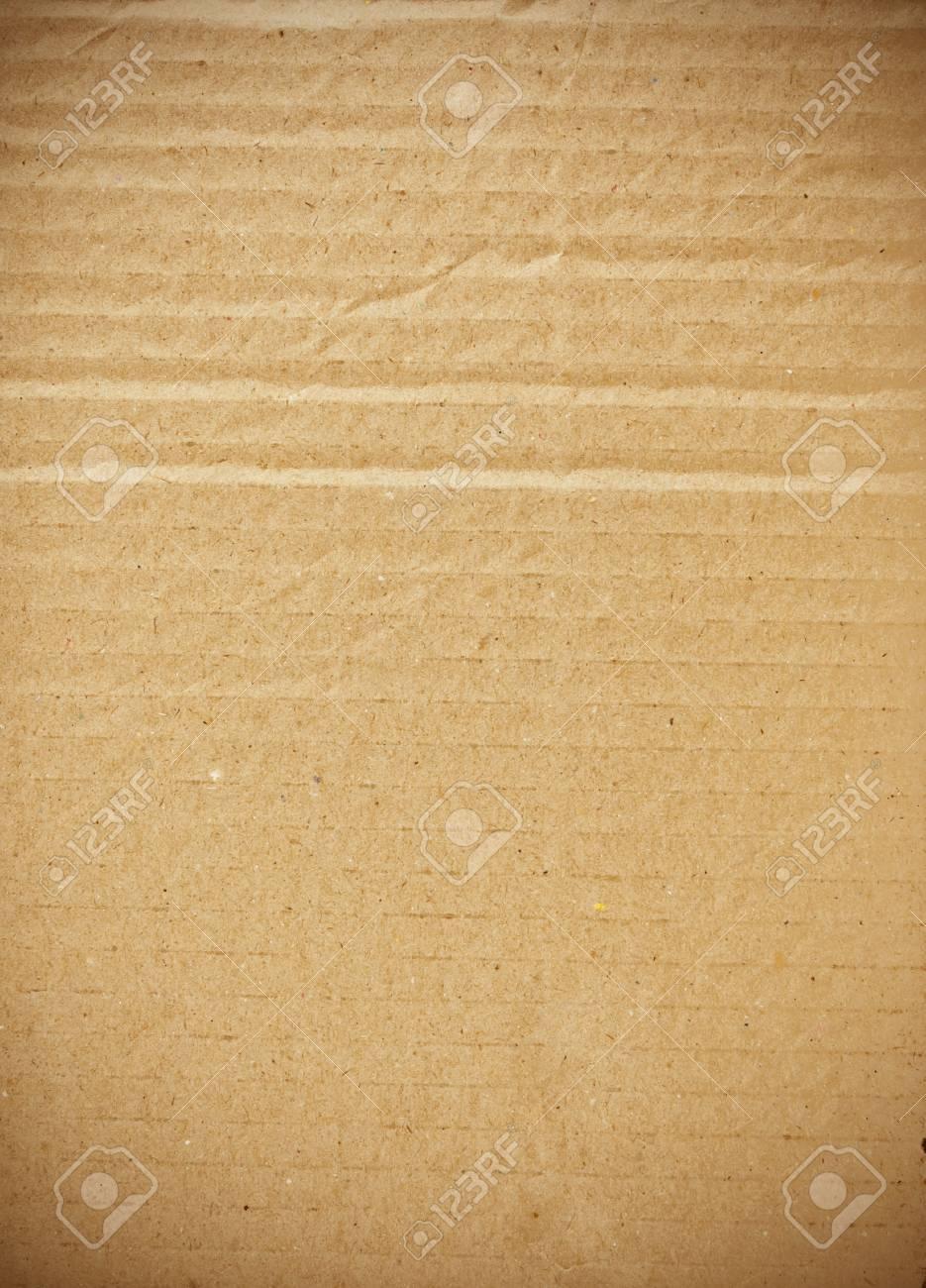 piece of corrugated cardboard Stock Photo - 9401351