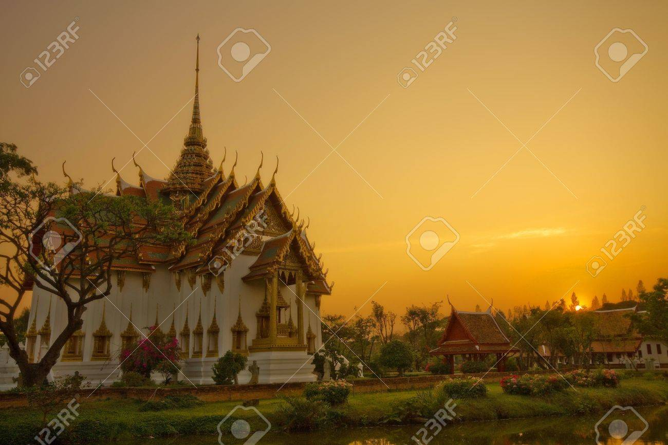 ancient city,Ayutthaya Thailand Stock Photo - 9424771