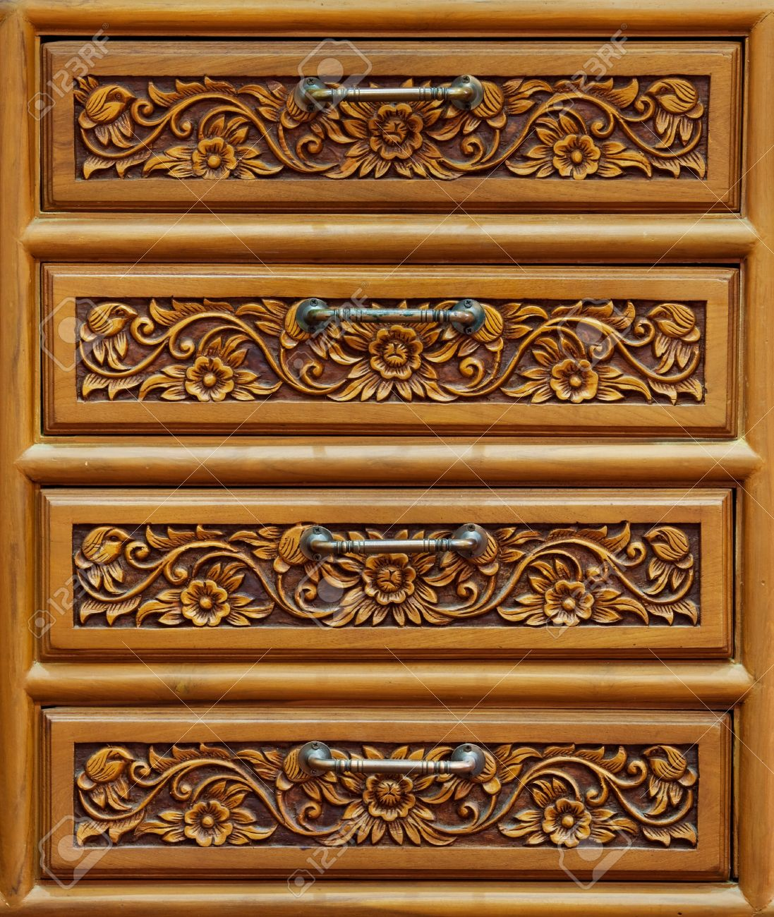 Detail of drawer carving Stock Photo - 9443219