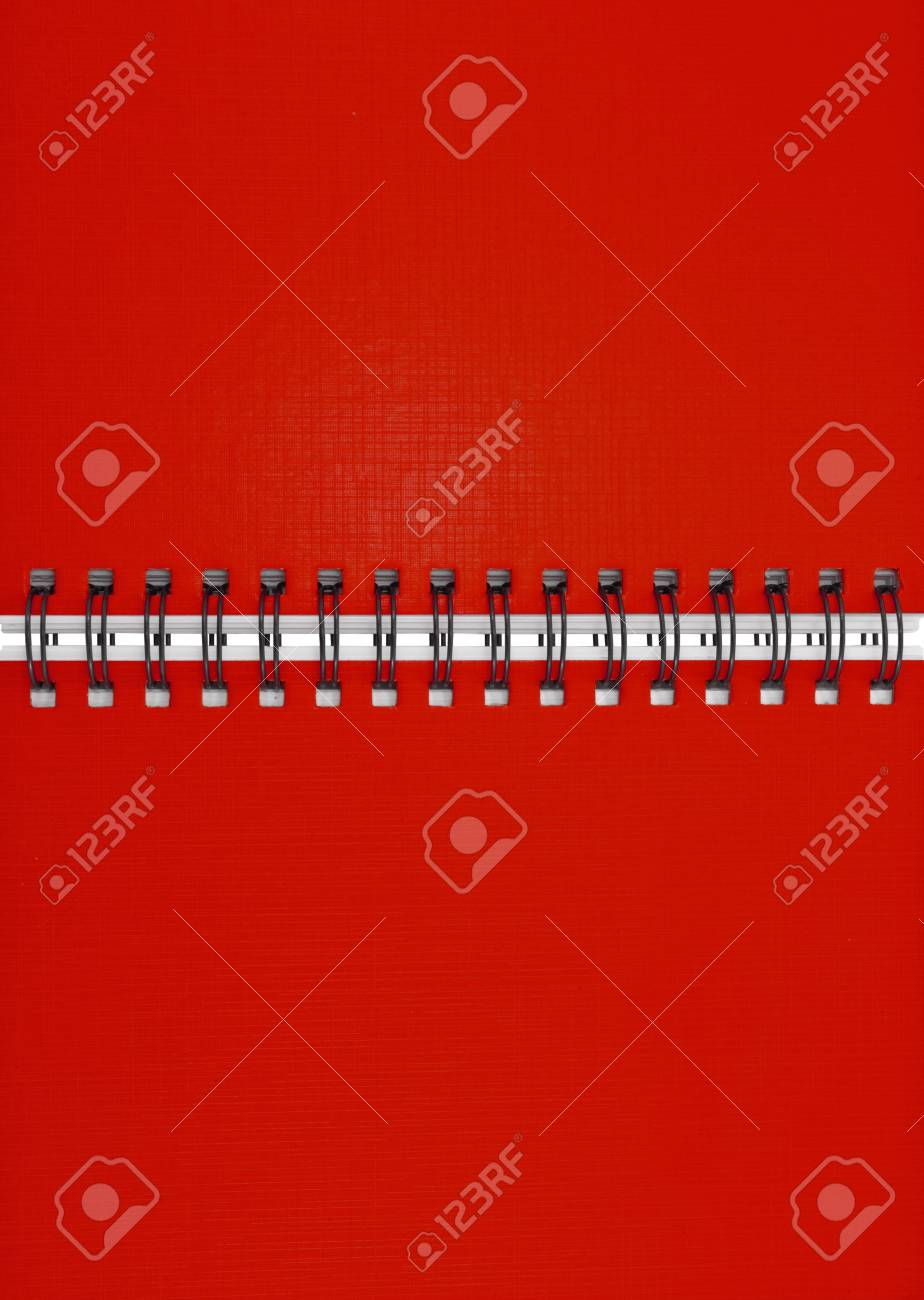 Red notebook Stock Photo - 9659150