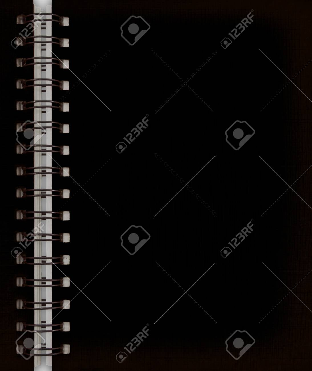 black notebook Stock Photo - 9659319