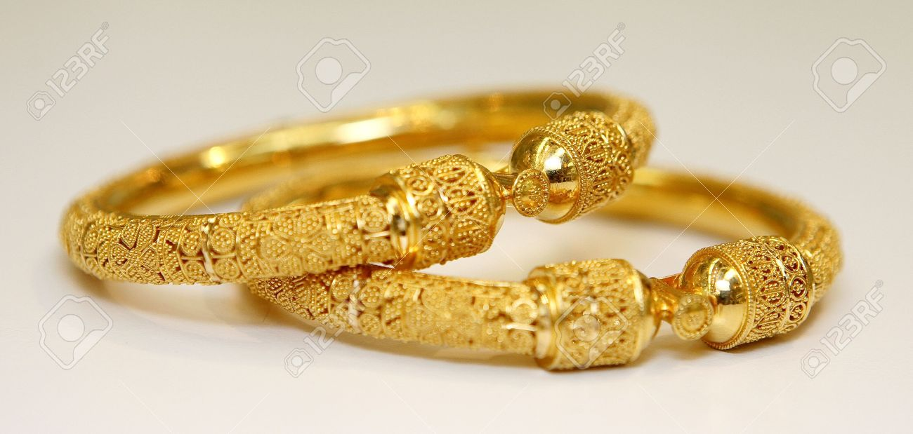 the bracelets golden gold designs plain in online pics bracelet buy jewellery swirl