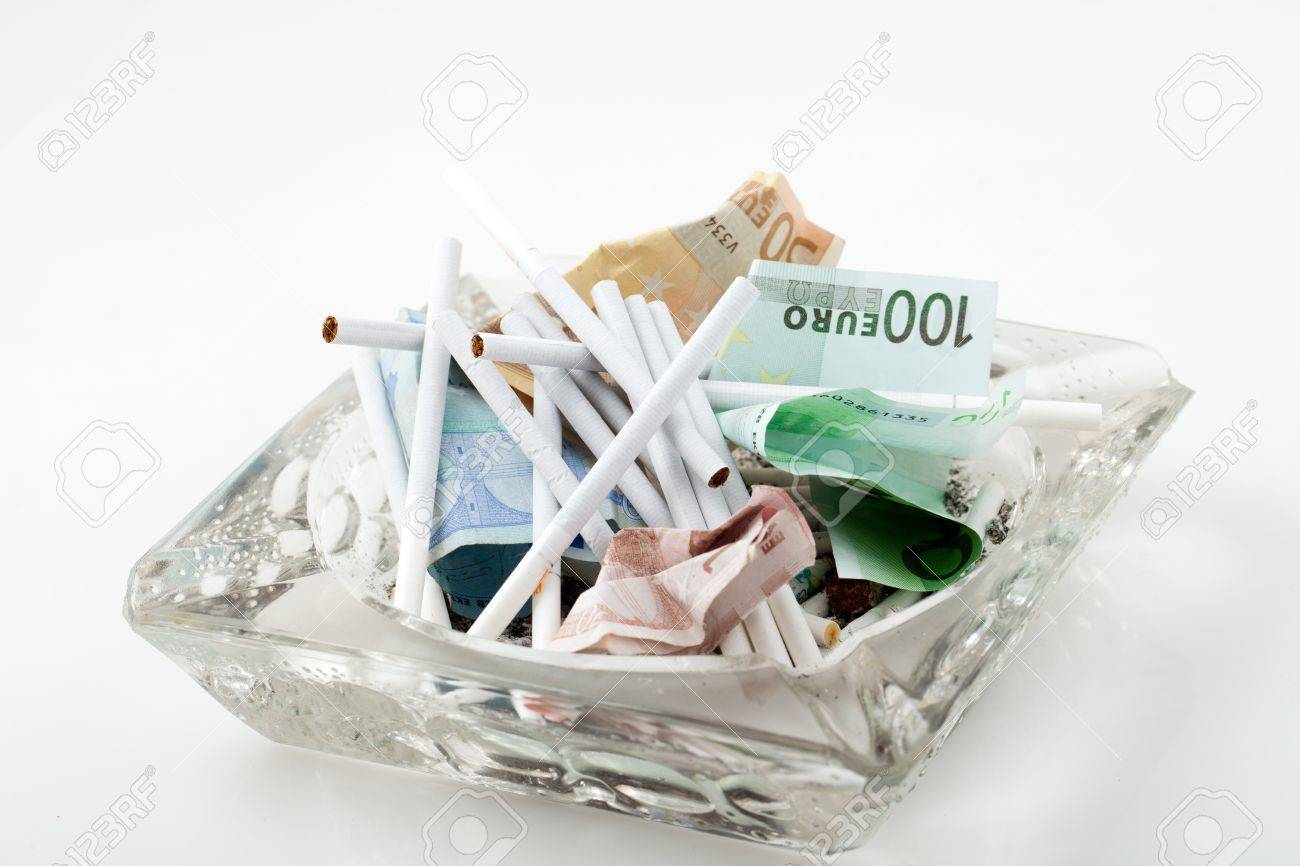 harmful and costly addiction Stock Photo - 13343334
