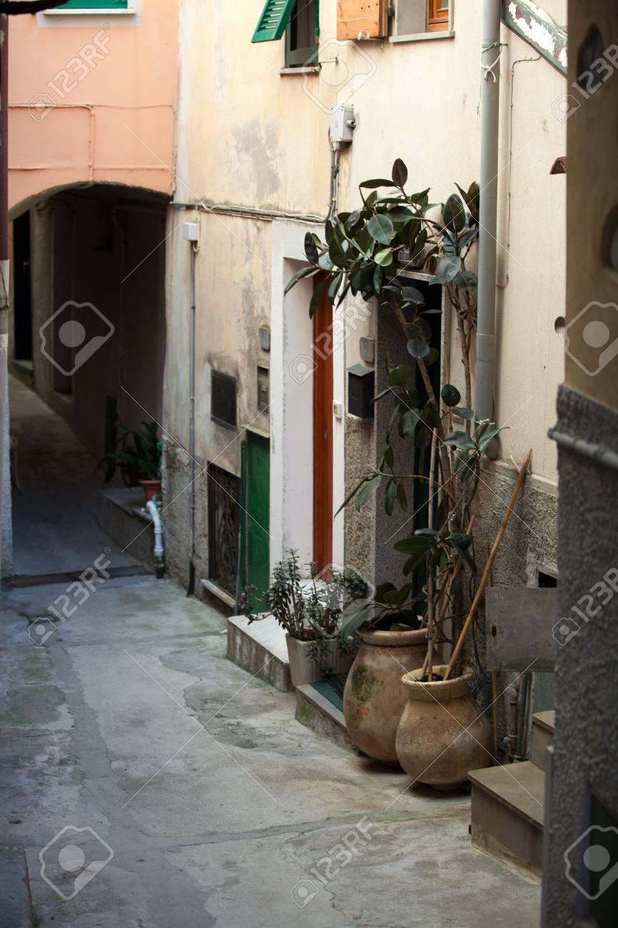 Riomaggiore - one of the cities of Cinque Terre in italy Stock Photo - 13494177