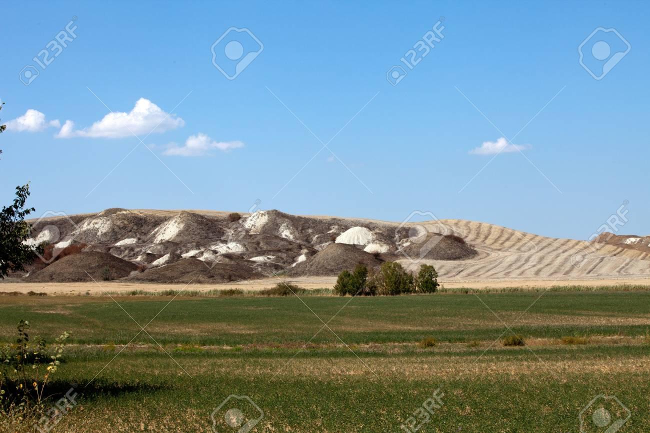 Crete Senesi - The landscape of the  Tuscany. Italy Stock Photo - 15151676