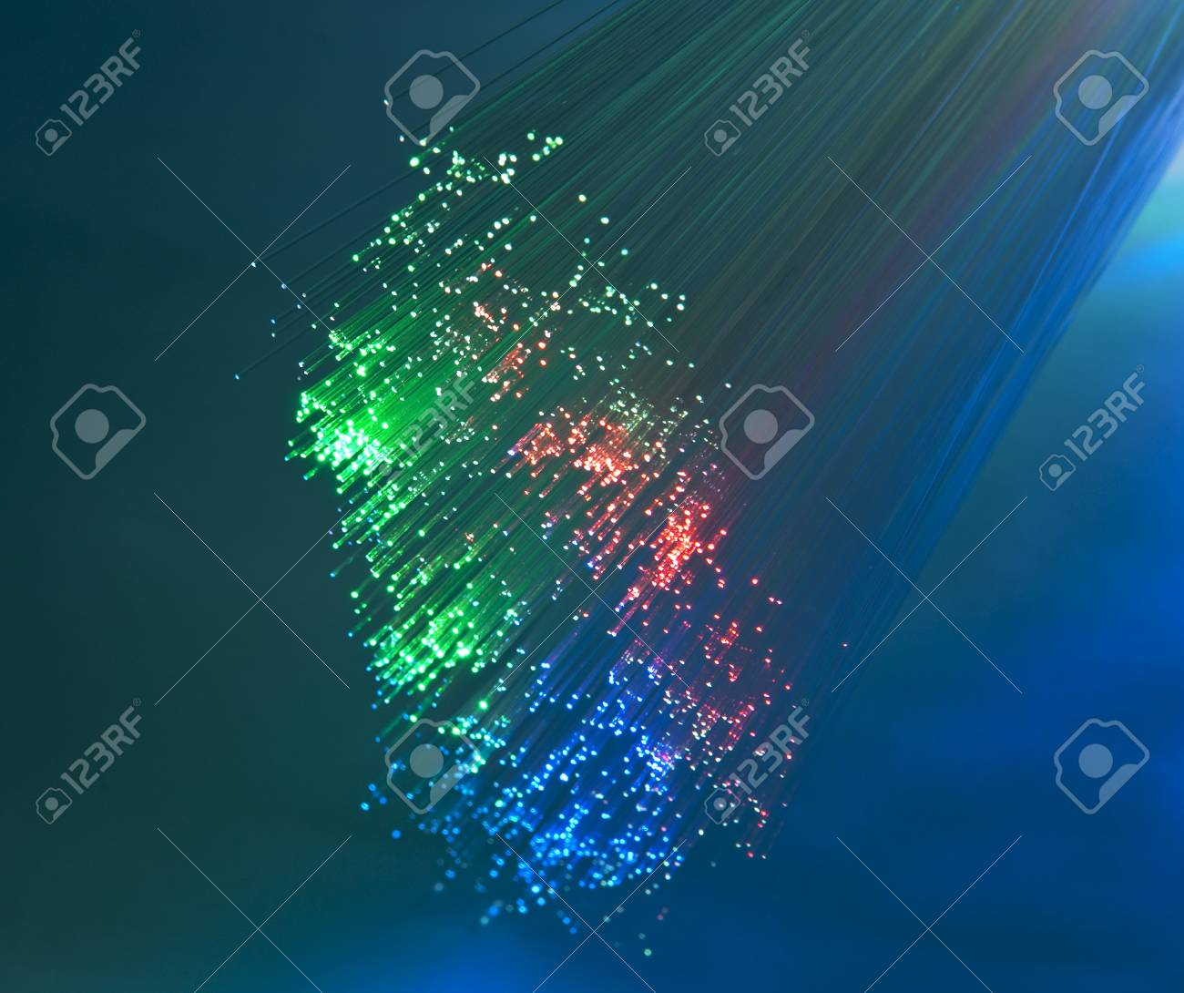 Abstract Internet technology fiber optic background Stock Photo - 8063953