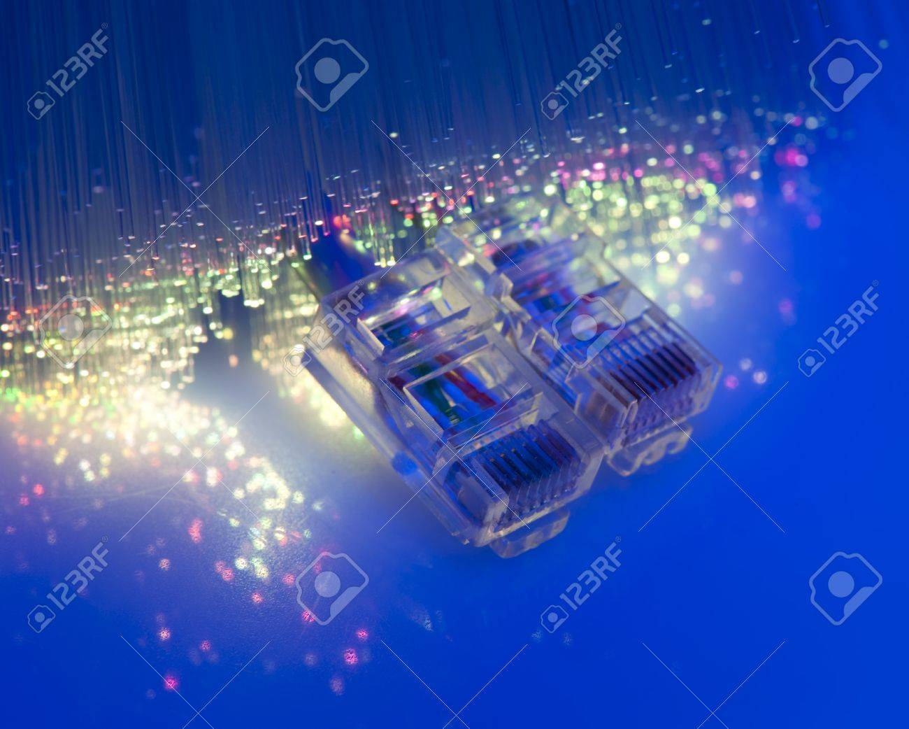 fiber optical network cable Stock Photo - 8944024