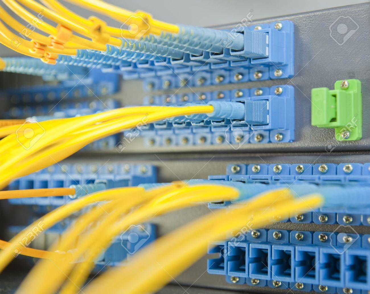 communication and internet network server room Stock Photo - 9369613