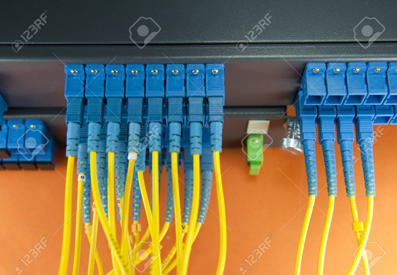 communication and internet network server room Stock Photo - 9686986