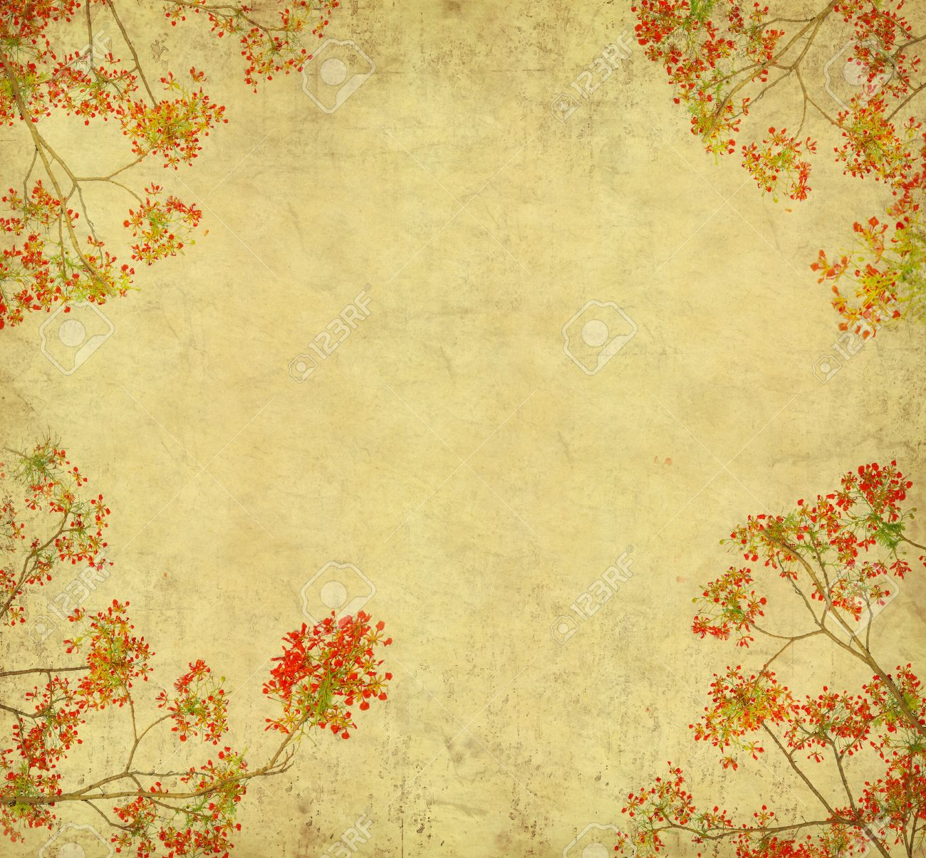Vintage Flower Paper Kampa Luckincsolutions Org